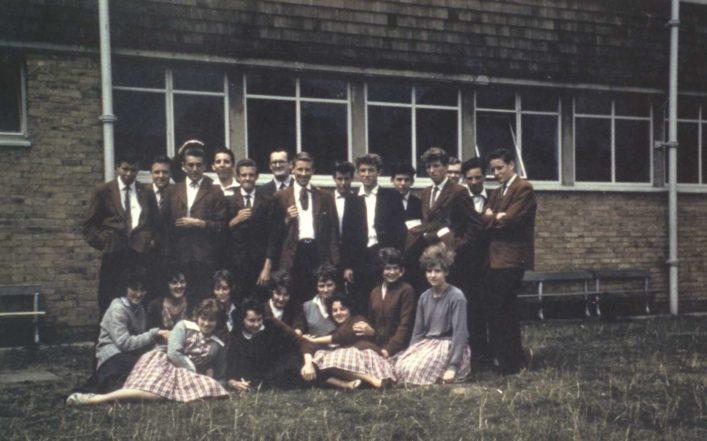 Hatfield School Class Photo (1961) | Graham Forsaith (far right with arms folded)