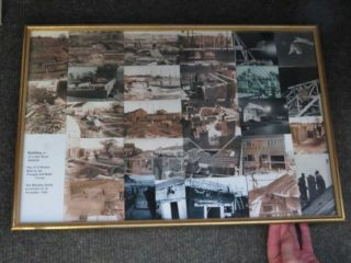 Collage of photos taken during the building | Bill Hinckley