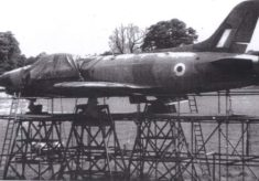 Supermarine Swift at Hatfield