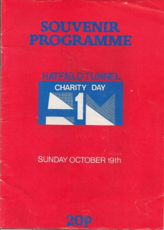 cover of the souvenir programme