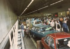 Hatfield Tunnel Charity Day, Sunday October 19th 1986