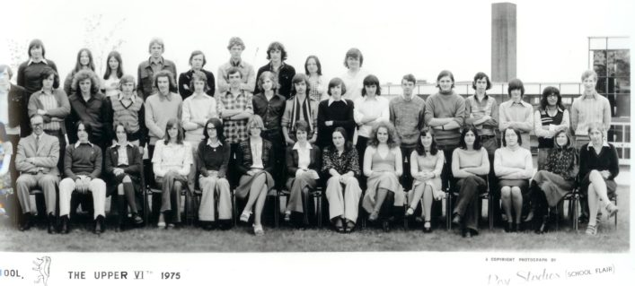 Hatfield School Upper Sixth 1975 (Part 2) | Michael Connell
