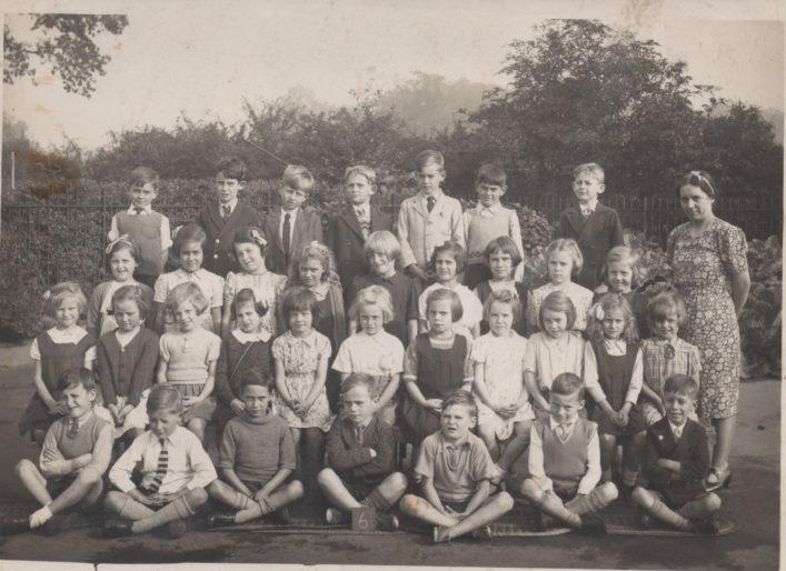 Class 6 c1940 At Dellfield Infants School | Brian Rawling