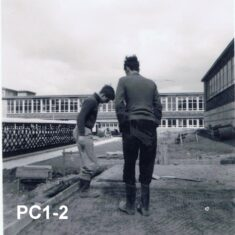 Building the 6th Form Common Room in 1962-ish