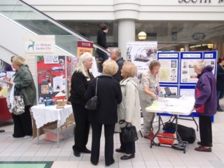 Mill Green Museum & Mill & Welwyn Garden City Heritage Trust displays | Christine Martindale