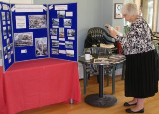 Hatield Local History Society's display | Christine Martindale