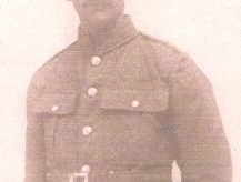 Rifleman  Harry Ernest Ewington.
