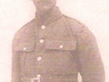 Rifleman  Harry Ernest Ewington.
