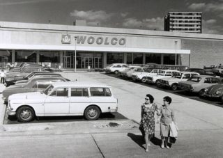 The new Woolco store (with Queensway House in the background) | Ken Wright