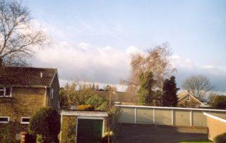 13 Dec. The smoke cloud still visible 9 miles away   Janet Vann