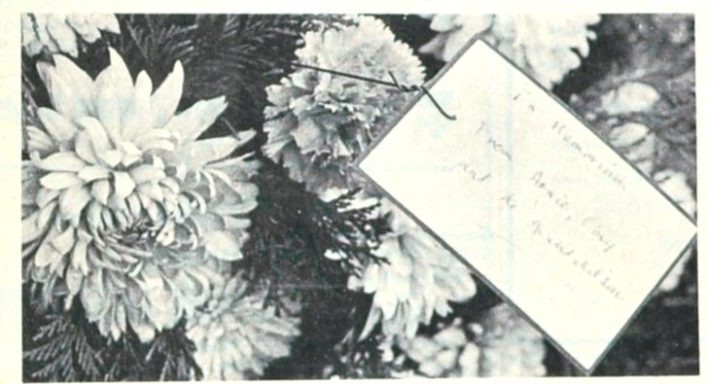 Flowers for William Church, who was first laid to rest over 73 years ago | Welwyn Times and Hatfield Herald, 17 December 1965, page 27