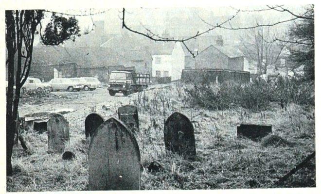 Park Street Chapel Graveyard, Hatfield | Welwyn Times and Hatfield Herald 19 November 1965 page 52