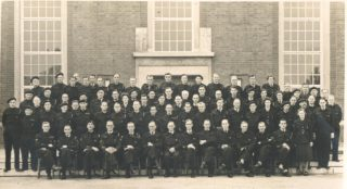 Civil Defence Volunteers ? 1945 | Local photographer