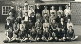 Photo 6: Class 8, 1956/57 | School photogragher -Courtesy of Hazel Macarthur