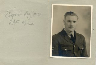 Corporal Reg Jones | Jean Cross