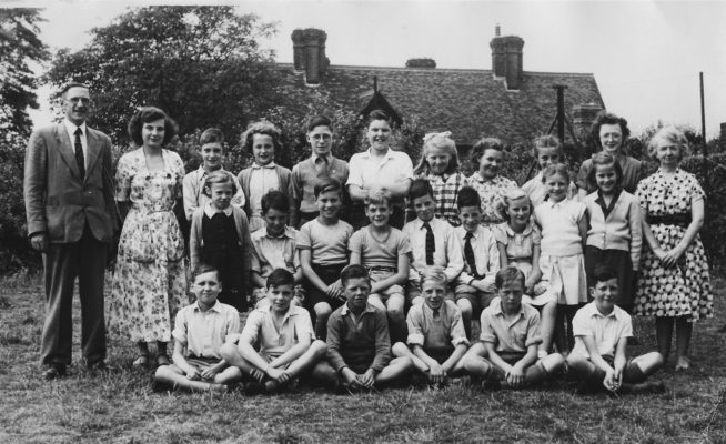 Countess Anne School Leavers, Summer 1952
