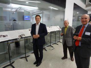 Grant Shapps MP with Pro VC Professor Stephan Boffey | Derek Martindale
