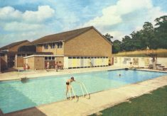 Hatfield School swimming pool (c.1957)