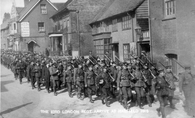 23rd London Regiment | Hertfordshire Archives and Local Studies
