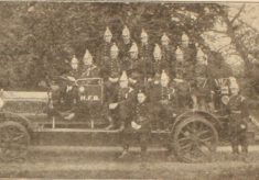 Hatfield Fire Engine and Crew