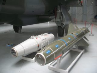 Martel TV guided missile and Training Pod | Robert Gill