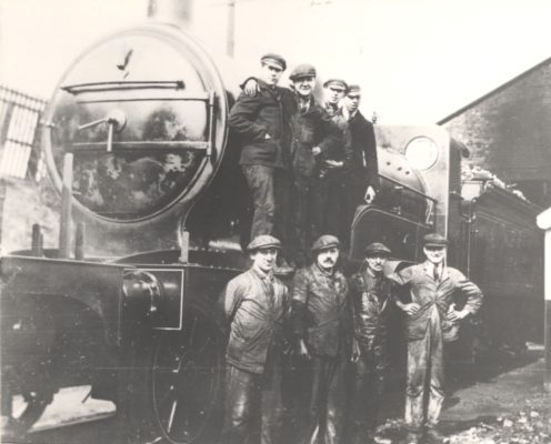 The locomotive depot c1928 | Hertfordshire Archives and Local Studies