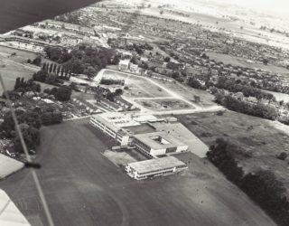 Onslow School aerial view.