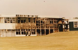 Can anyone remember anything about the fire in 1972?