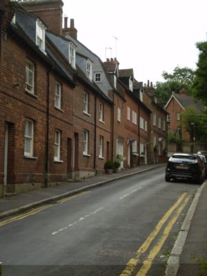 8) Returning to the corner turn right into Church Street (formerly Back Street). | Jean Cross