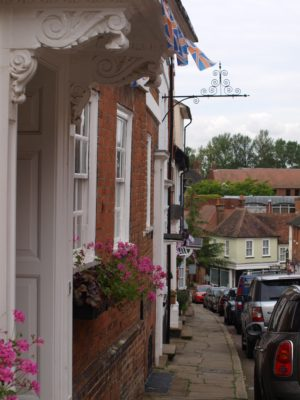 View down Fore Street | Jean Cross