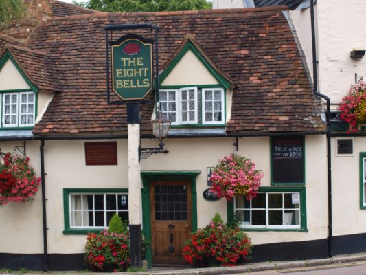23) At the bottom of the hill can be found the Eight Bells PH made famous in Dickens 'Oliver Twist' as the place to which Bill Sykes fled after the murder of Nancy. | Jean Cross