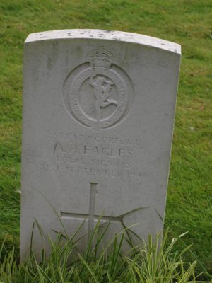 2588477 Corporal A. H. Eagles Royal Signals 21 September 1941 | Jean Cross