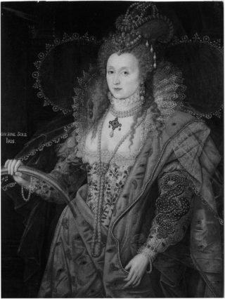 The Rainbow portrait of Elizabeth I at Hatfield House