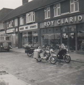 Roy Claridge's Motorcycle Shop