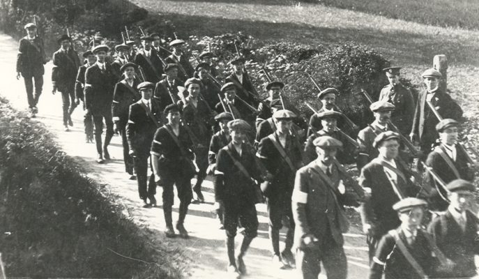 Hatfield Volunteer Training Corps at Wheathampstead in 1915 | Hatfield Library