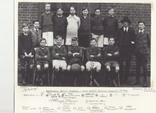 St Audrey's Team Photo (c.1924)