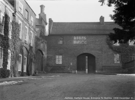 Entrance to Stables | Hertfordshire Archives and Local Studies.