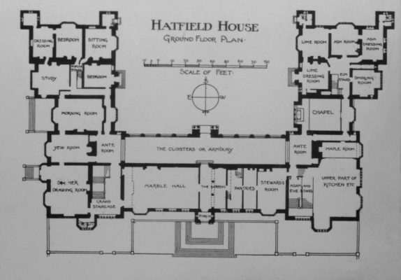 Hatfield House Plan | Hertfordshire Archives and Local Studies.