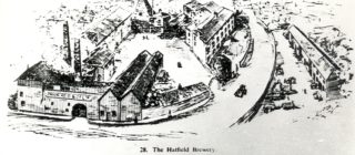Picture of the Hatfield Brewery, date unknown | Local Studies Image Collection
