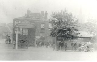 The One Bell, owned by the Hatfield Brewery. Date unknown | Local Studies Image Collection