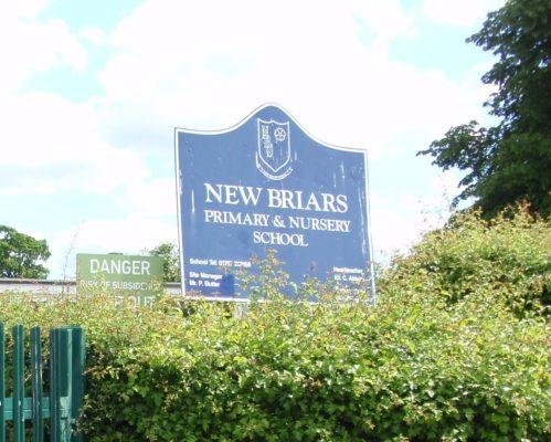 New Briars School   Derek Martindale