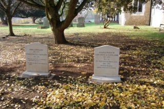 de Havilland graves in Tewin Churchyard | Susan Hall