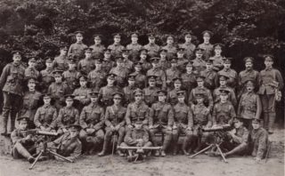 6th Beds. Battalion Machine Gun Corp (which William served in),from the Regimental Archive