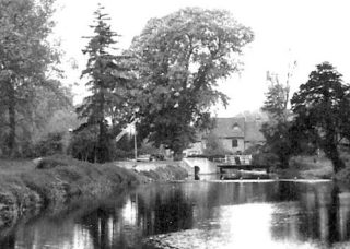 Mill Green Mill from the broadwater 1900's | Hatfield Library