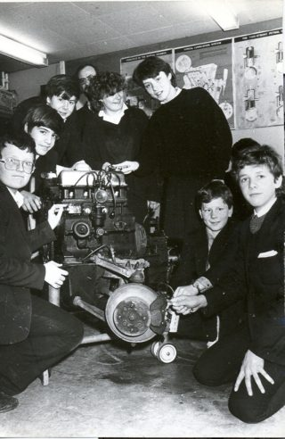1985 Pupils from St Audrys & Onslow. A