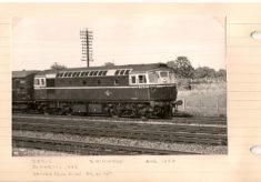 Trains passing through Hatfield