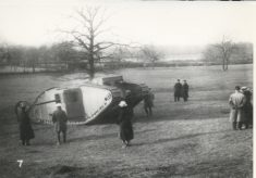 Tank Trial at Hatfield Park
