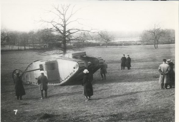 Tank Trial at Hatfield Park | Hatfield Library local studies collection